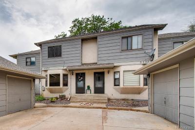 Longmont Condo/Townhouse Under Contract: 2231 Emery Street #D