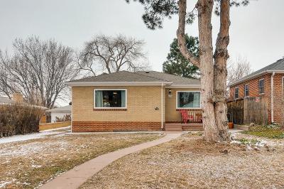 Denver Single Family Home Active: 1221 Fairfax Street