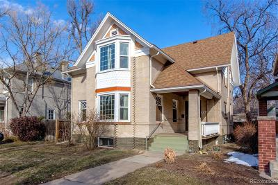 Denver Single Family Home Active: 532 North Franklin Street