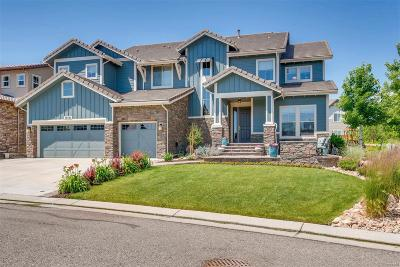 Highlands Ranch Single Family Home Under Contract: 10581 East Autumnsong Court