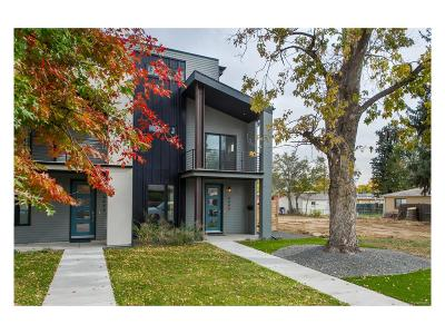 Denver Condo/Townhouse Active: 4440 Umatilla Street