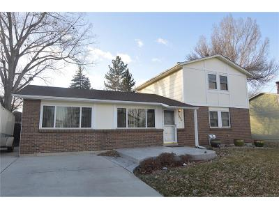 Arvada Single Family Home Active: 7525 Kendall Street