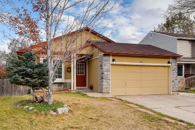 Littleton Single Family Home Under Contract: 7886 Jared Way
