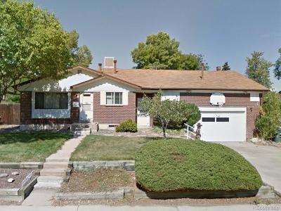 Northglenn Single Family Home Under Contract: 10983 Larson Drive