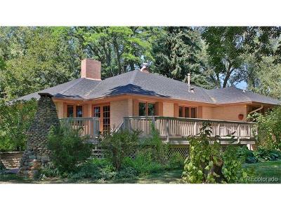 Longmont Single Family Home Active: 6327 Ute Highway