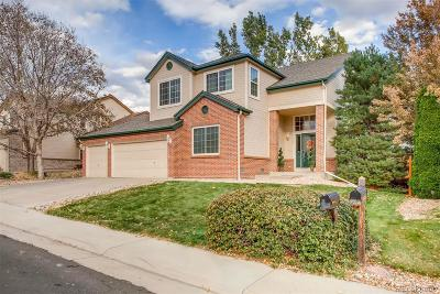 Littleton Single Family Home Active: 7724 South Brentwood Street