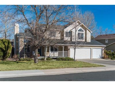 Castle Rock Single Family Home Under Contract: 5549 East Tabor Drive