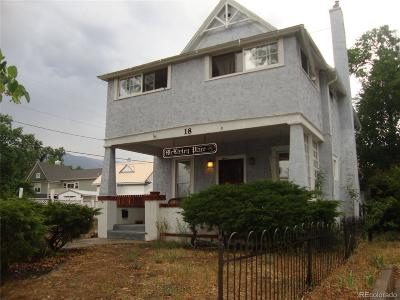 Old Colorado City Single Family Home Under Contract: 18 McKinley Place