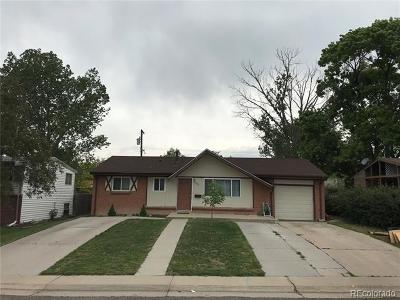 Castle Rock, Conifer, Cherry Hills Village, Greenwood Village, Englewood, Lakewood, Denver Single Family Home Active: 7913 Wyandot Street