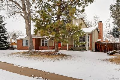 Littleton Single Family Home Active: 10195 West Alamo Place