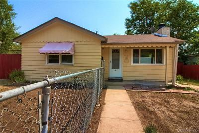 Denver Single Family Home Under Contract: 910 South Hazel Court
