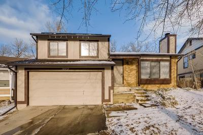 Aurora Single Family Home Under Contract: 18937 East Mercer Drive