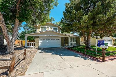 Arvada Single Family Home Under Contract: 9601 Sierra Drive