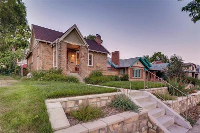 Denver Single Family Home Active: 424 South Clarkson Street