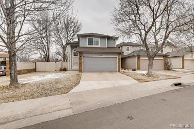 Arapahoe County Single Family Home Active: 11609 East Warren Place