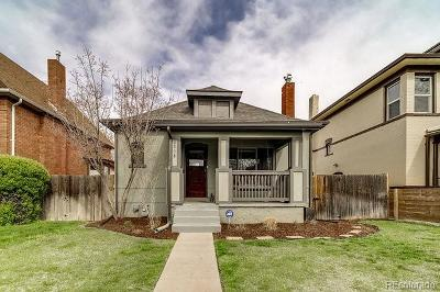 Denver Single Family Home Active: 2816 North Race Street