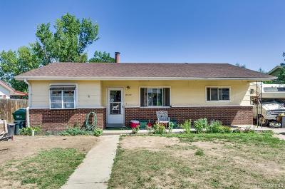Commerce City Single Family Home Active: 6509 East 79th Place