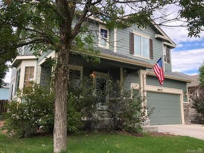 Commerce City Single Family Home Under Contract: 10437 Vaughn Street