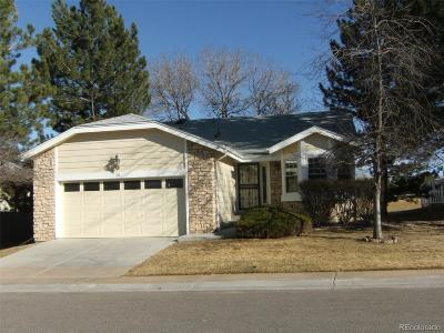Highlands Ranch Single Family Home Under Contract: 30 Canongate Lane