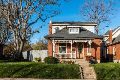 Denver Single Family Home Active: 1725 South Grant Street