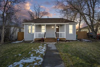 Englewood Single Family Home Under Contract: 2923 South Delaware Street