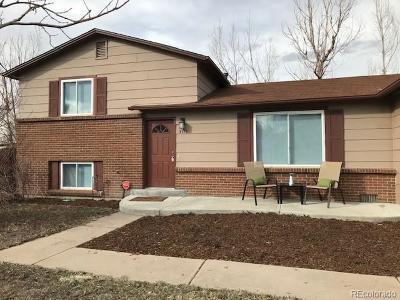 Aurora Single Family Home Active: 3176 South Olathe Way