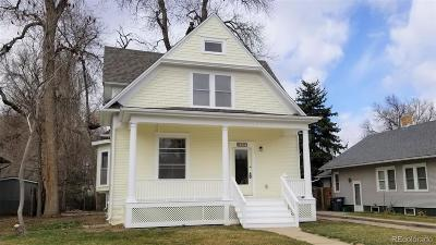 Greeley Single Family Home Active: 1213 14th Avenue