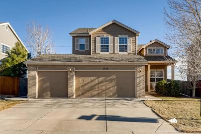Castle Rock Single Family Home Under Contract: 1350 North Tabor Drive