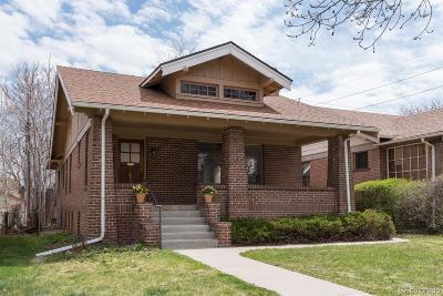Denver Single Family Home Active: 1406 Madison Street