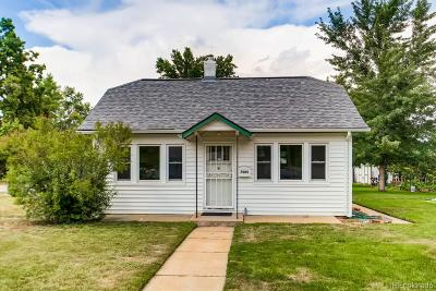 Wheat Ridge Single Family Home Under Contract: 7005 West 36th Avenue