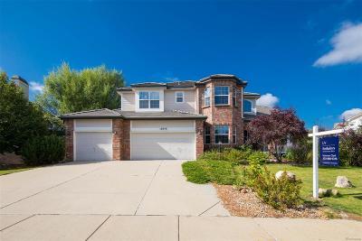 Centennial Single Family Home Active: 16856 East Lake Avenue