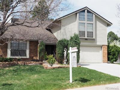Centennial Single Family Home Active: 7507 South Xanthia Place