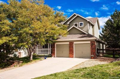 Castle Pines Single Family Home Under Contract: 750 Deer Clover Circle