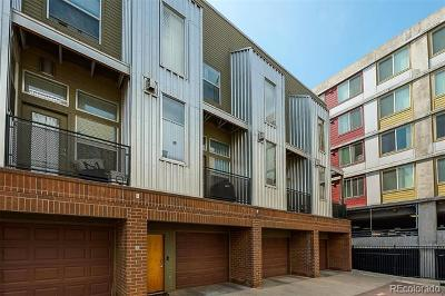 Denver Condo/Townhouse Active: 2680 Blake Street #23