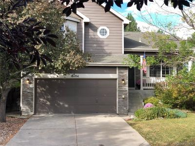 Parker Single Family Home Under Contract: 16104 White Hawk Drive