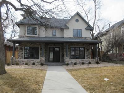 Denver Single Family Home Active: 2365 South Columbine Street