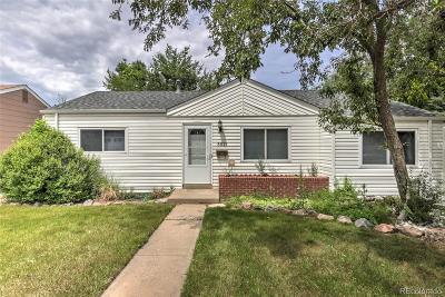 Denver Single Family Home Active: 5571 East Hampden Avenue