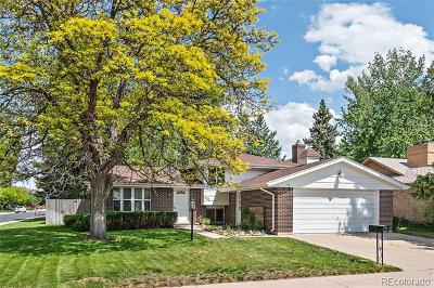 Denver Single Family Home Active: 1802 South Olive Street