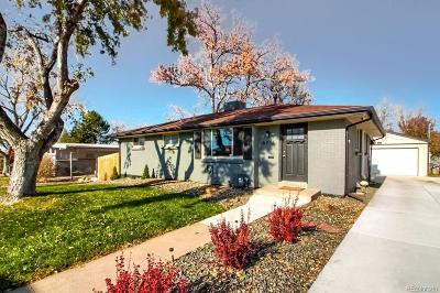 Centennial Single Family Home Active: 6216 South Josephine Way