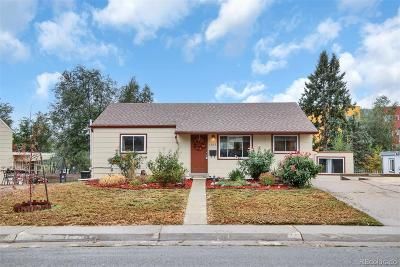 Denver Single Family Home Active: 1562 West Hoye Place