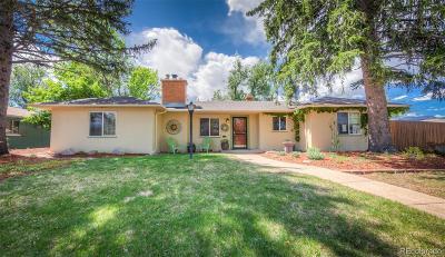 Colorado Springs Single Family Home Active: 1617 East Cache La Poudre Street