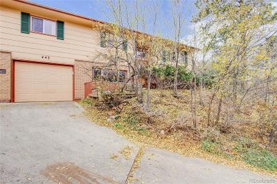 Manitou Springs Single Family Home Active: 443 East Fountain Place