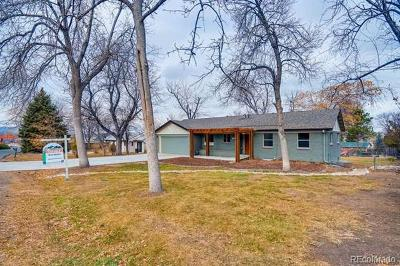 Wheat Ridge Single Family Home Active: 9805 West 36th Avenue