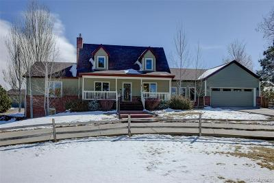 Foxfield Single Family Home Under Contract: 6970 South Waco Street