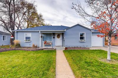 Wheat Ridge Single Family Home Under Contract: 6460 West 46th Avenue