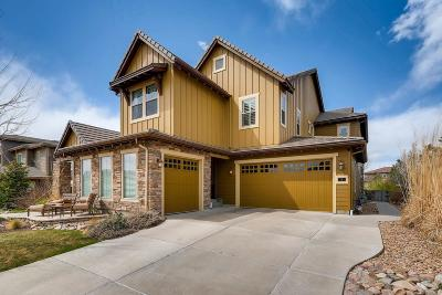 Highlands Ranch Single Family Home Under Contract: 1 Flowerburst Drive