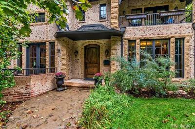 Denver Single Family Home Active: 260 Glencoe Street