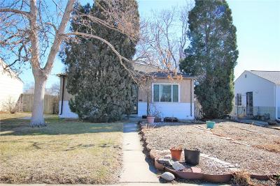 Denver Single Family Home Under Contract: 978 Zenobia Street