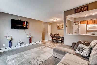 Condo/Townhouse Under Contract: 7309 West Hampden Avenue #2804