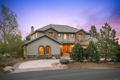Castle Rock CO Single Family Home Active: $1,365,000